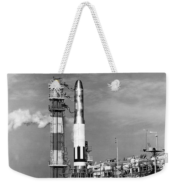 Titan Missile Ready To Launch Weekender Tote Bag