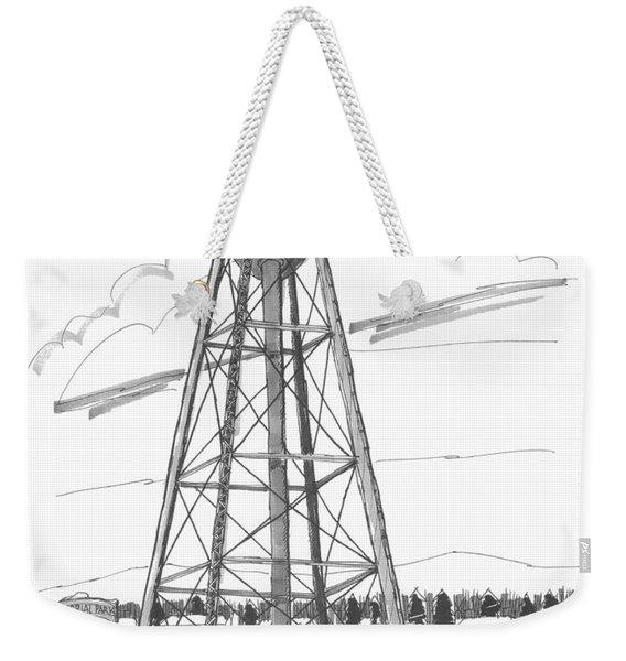 Tivoli Water Tower Weekender Tote Bag