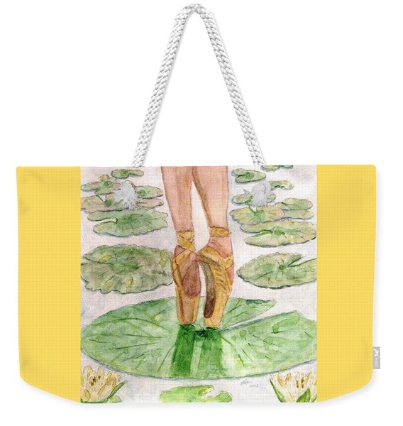 To Dance Weekender Tote Bag
