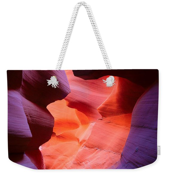 To The Center Of The Earth Weekender Tote Bag