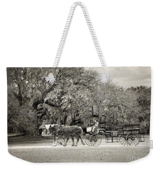 To The Stables Weekender Tote Bag