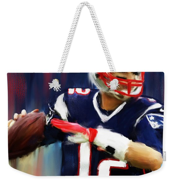Tom Brady Weekender Tote Bag