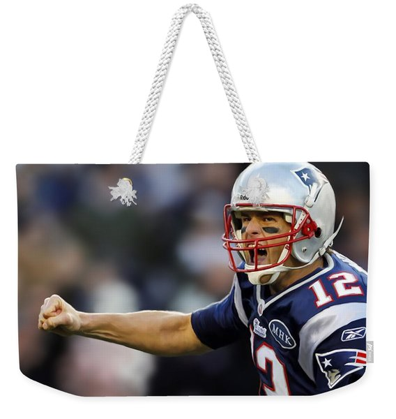 Tom Brady - Portrait Weekender Tote Bag