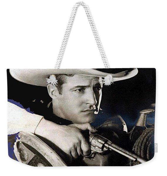 Tom Mix Portrait Melbourne Spurr Hollywood California C.1925-2013 Weekender Tote Bag