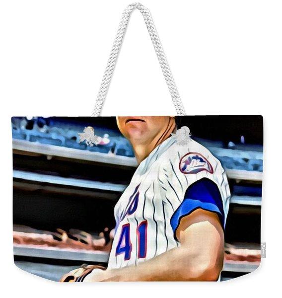 Tom Seaver Weekender Tote Bag