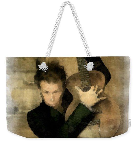 Tom Waits Weekender Tote Bag
