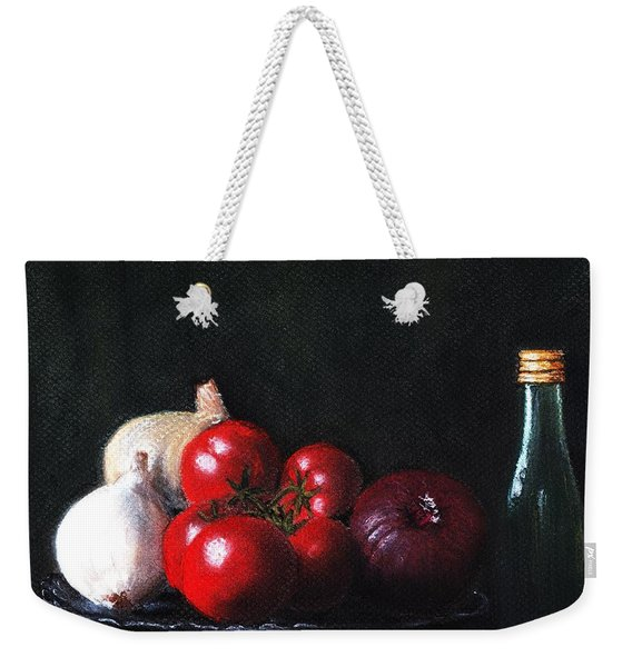 Tomatoes And Onions Weekender Tote Bag