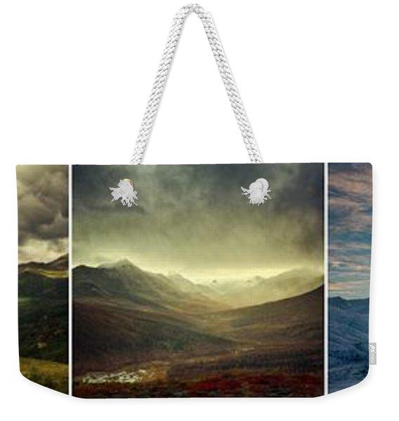 Tombstone Range Seasons Weekender Tote Bag
