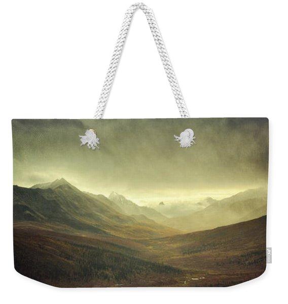 Tombstone Range Seasons Vertical Weekender Tote Bag