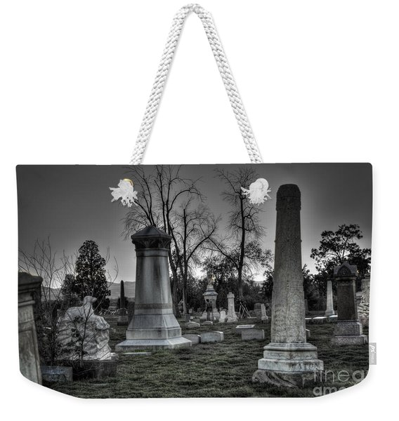 Tombstones And Tree Skeletons Weekender Tote Bag