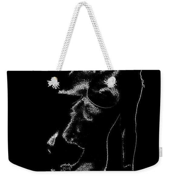 Tone-line Form Weekender Tote Bag
