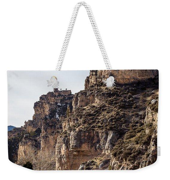Tongue River Canyon Weekender Tote Bag