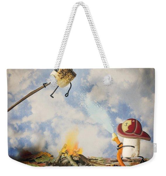 Too Toasted Weekender Tote Bag