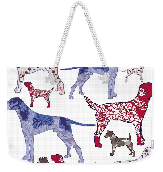 Top Dogs Weekender Tote Bag