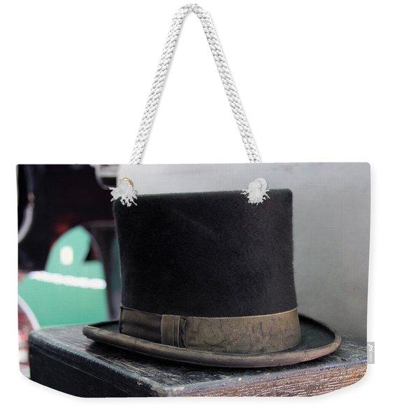 Top Hat Weekender Tote Bag