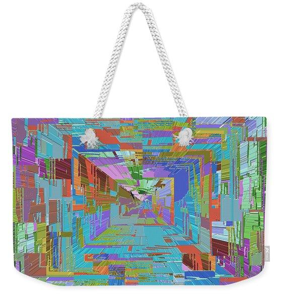 Topographic Albatross Weekender Tote Bag