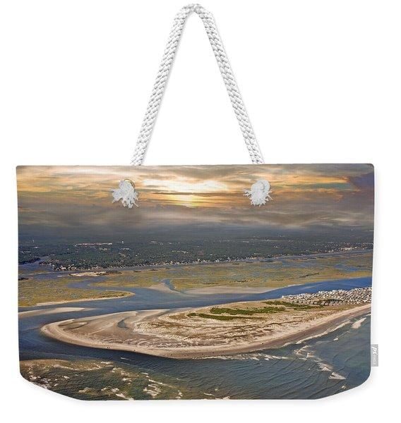 Topsail Island Paradise Weekender Tote Bag