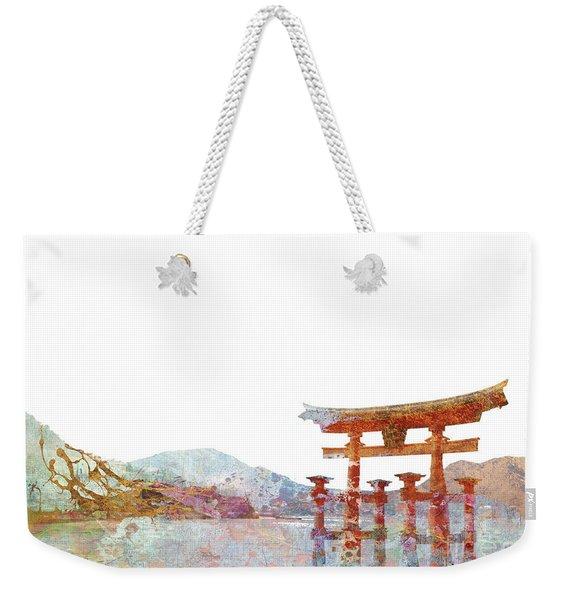 Torii Gate Colorsplash Weekender Tote Bag
