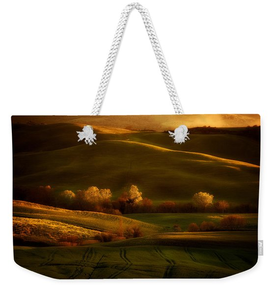 Weekender Tote Bag featuring the photograph Toskany Impression by Jaroslaw Blaminsky