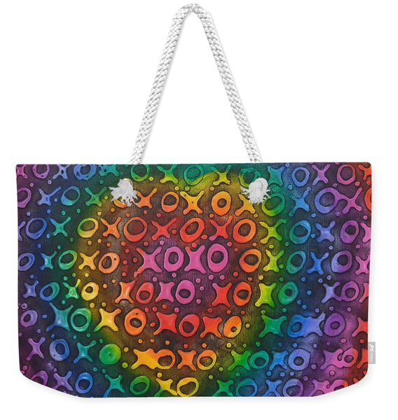 Touch My Heart Weekender Tote Bag
