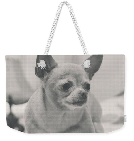 Tough Girl Weekender Tote Bag