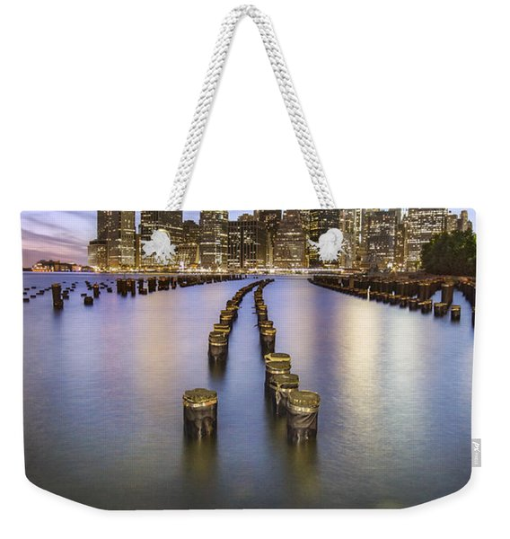 Towards The Evening Star Weekender Tote Bag