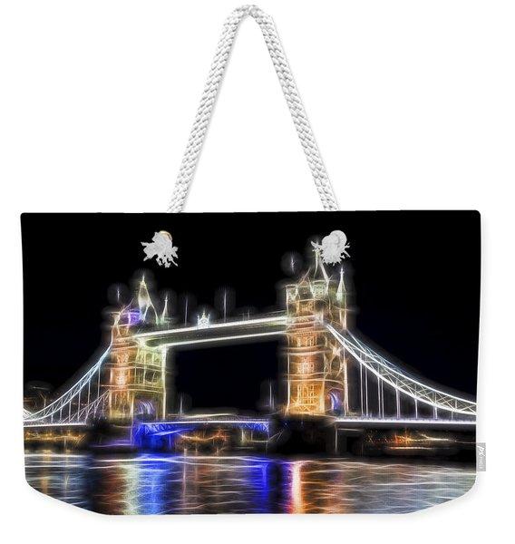 Tower Bridge Abstract Weekender Tote Bag