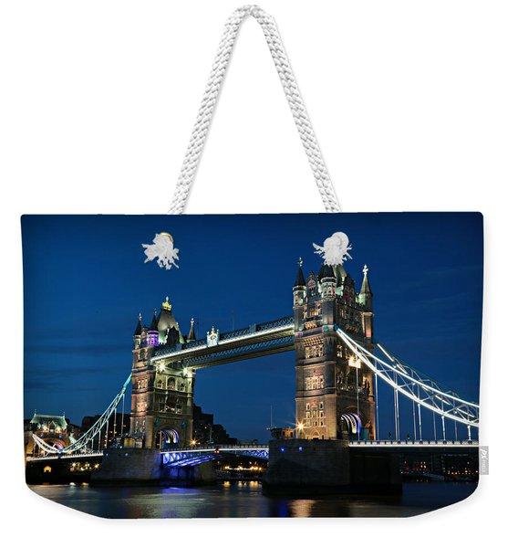 Tower Bridge Evening No 2 Weekender Tote Bag