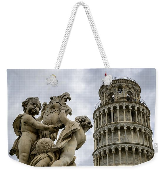 Tower Of Pisa Weekender Tote Bag