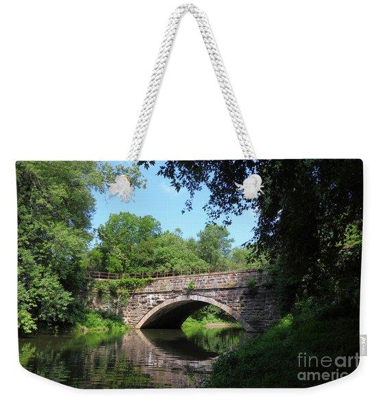 Town Creek Aqueduct Maryland Weekender Tote Bag