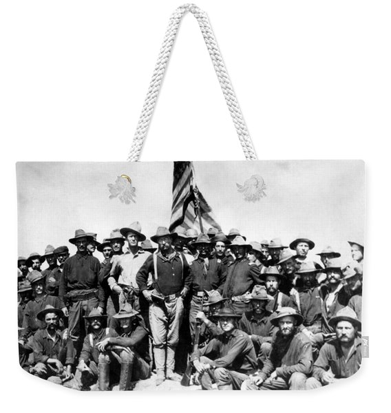 Tr And The Rough Riders Weekender Tote Bag