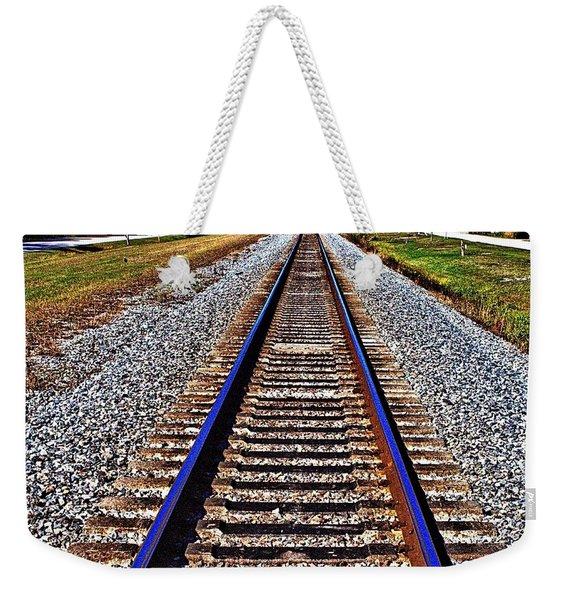 Tracks To Somewhere Weekender Tote Bag