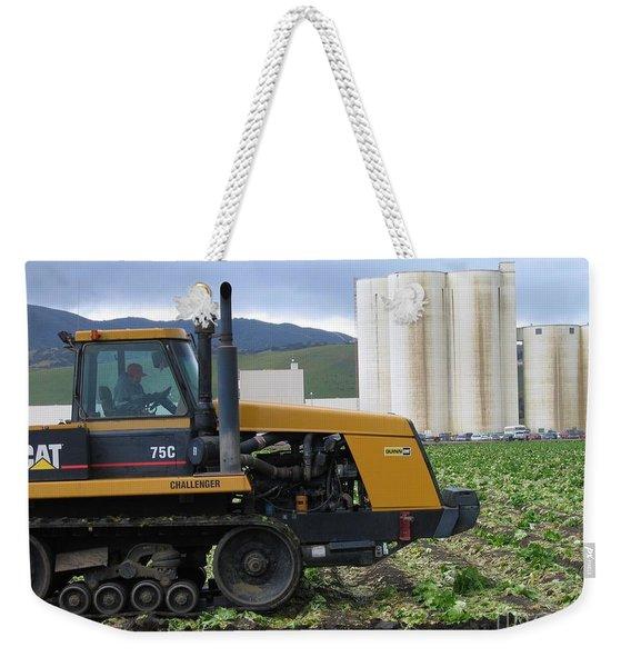 Tractor At Spreckels Weekender Tote Bag