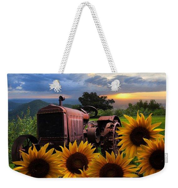Tractor Heaven Weekender Tote Bag