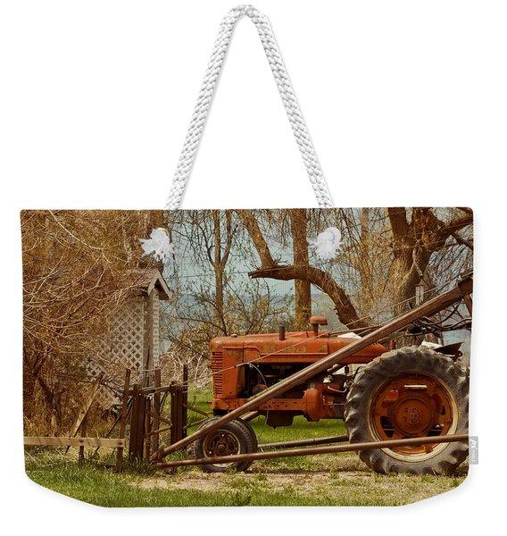 Tractor On Us 285 Weekender Tote Bag