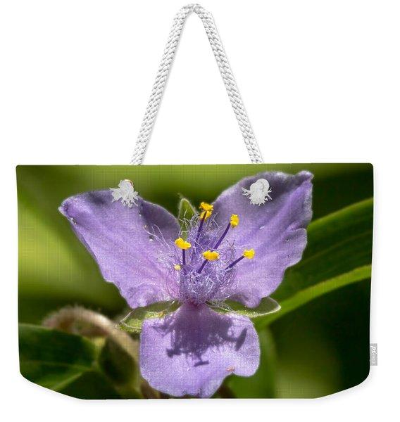 Tradescantia Virginiana Weekender Tote Bag