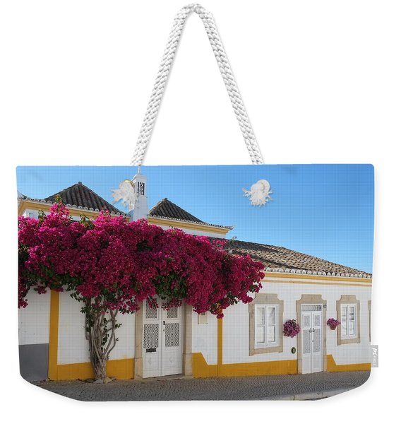 Traditional House Of Tavira. Portugal Weekender Tote Bag