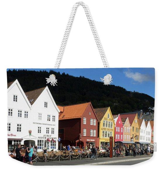 Traditional Wooden Hanseatic Commercial Weekender Tote Bag