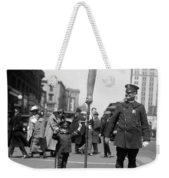 Traffic Cop, 1924 Weekender Tote Bag