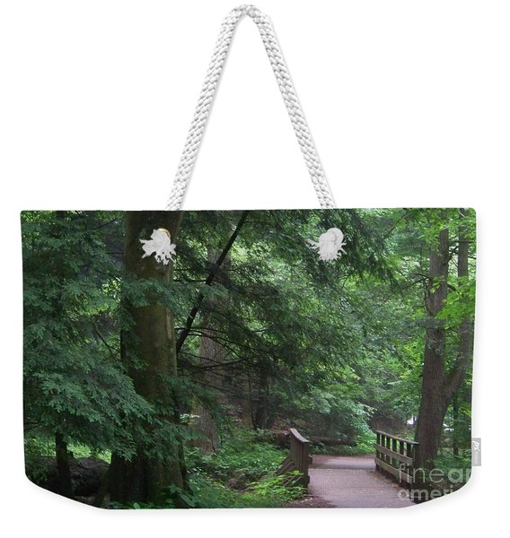 Trail To Ash Cave Weekender Tote Bag
