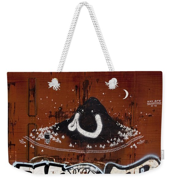 Train Art Graffiti Weekender Tote Bag