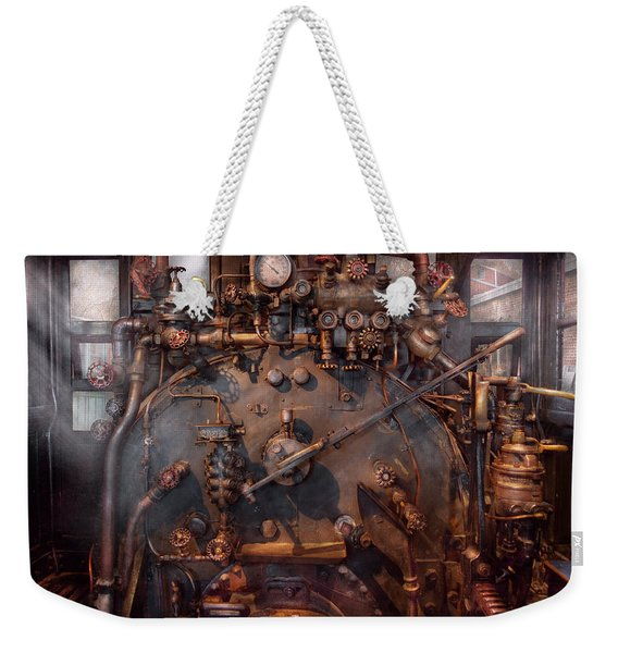 Train - Engine - Hot Under The Collar  Weekender Tote Bag