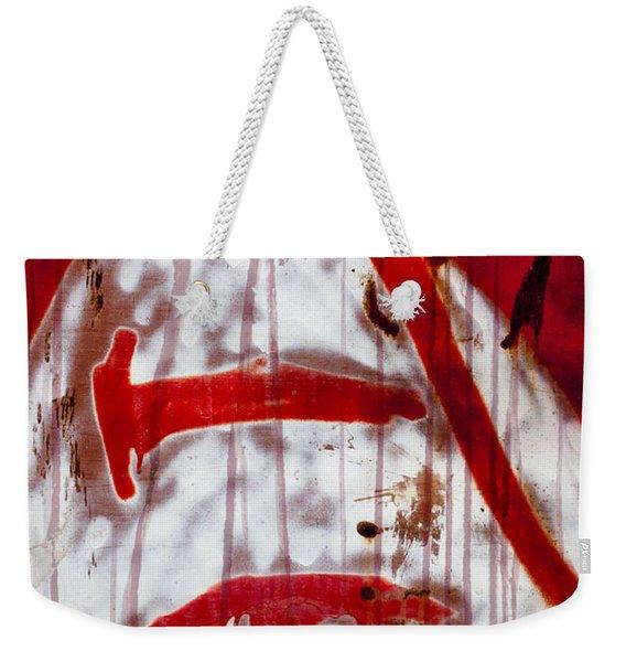 Train Graffiti Michael Jackson Weekender Tote Bag