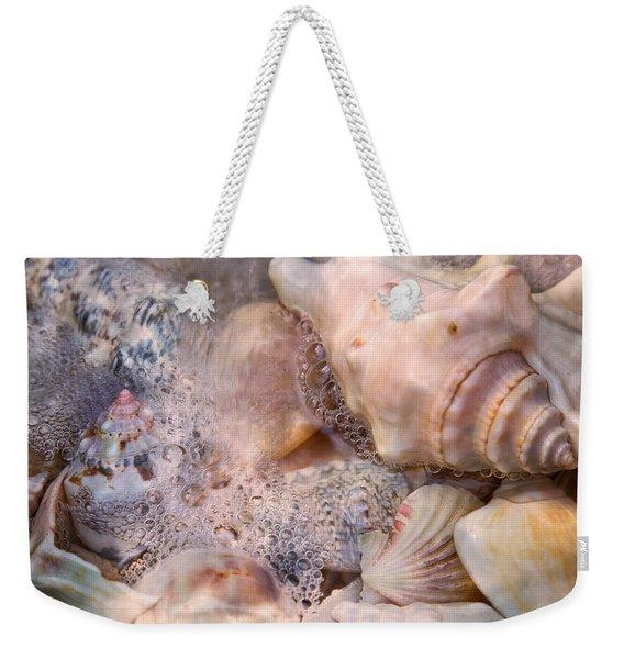Tranquil Seashells Weekender Tote Bag