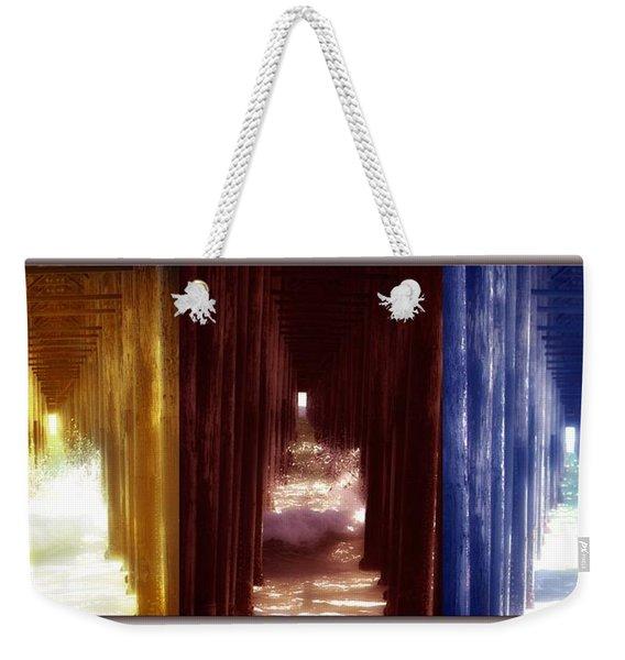 Transforming Waters  Orginal Piece Weekender Tote Bag