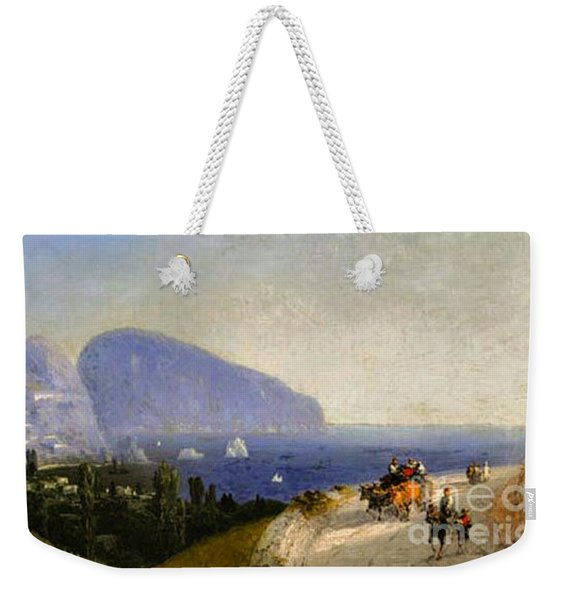 Travellers In Gurzuf Weekender Tote Bag