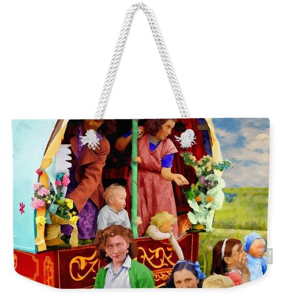 Travellers Weekender Tote Bag