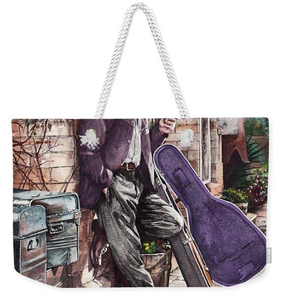 Travelling Man Weekender Tote Bag
