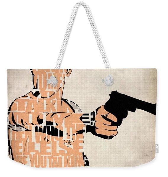Travis Bickle - Robert De Niro Weekender Tote Bag