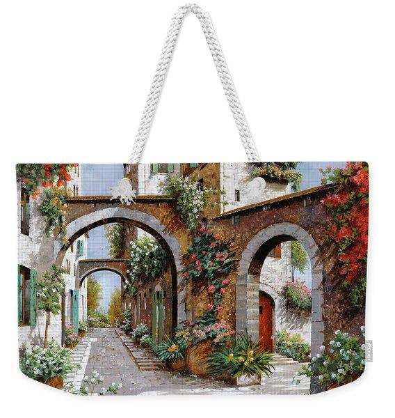 Tre Archi Weekender Tote Bag